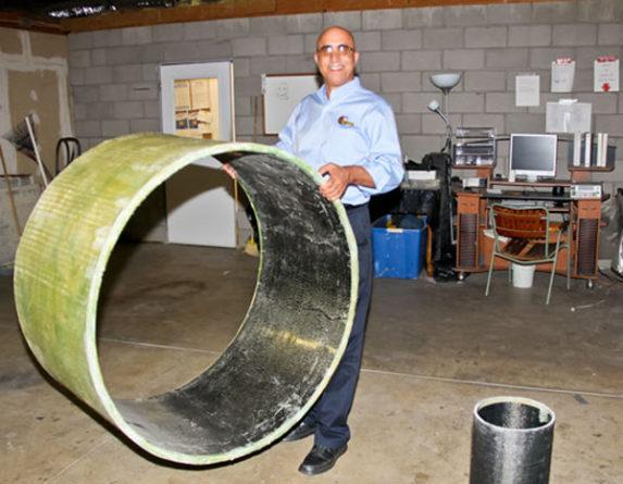 «Бесконечные» композитные трубопроводы сделают стальные трубы ненужными