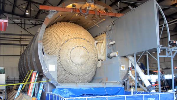 Ураган «Сэнди» ускорил работы над надувной «затычкой» для тоннелей метро