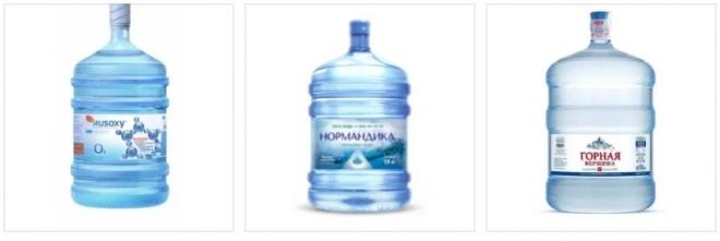Доставка питьевой бутылированной воды