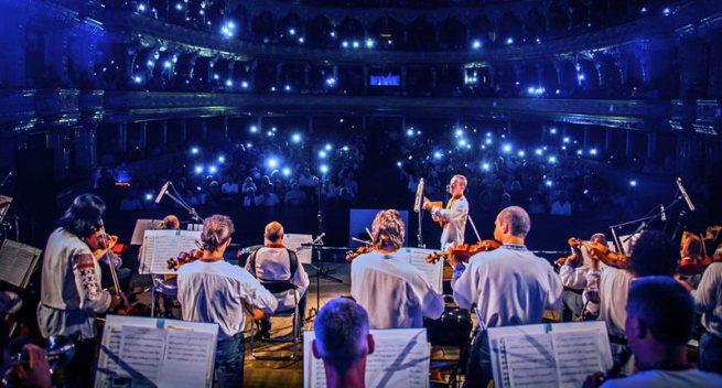 В Ивано-Франковске прошло грандиозное музыкальное фэнтези-шоу «Повелители стихий»