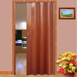 Двері гармошки з ПВХ: експлуатаційні якості