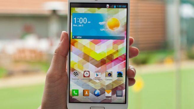 LG Optimus G Pro готов к дебюту в AT&T