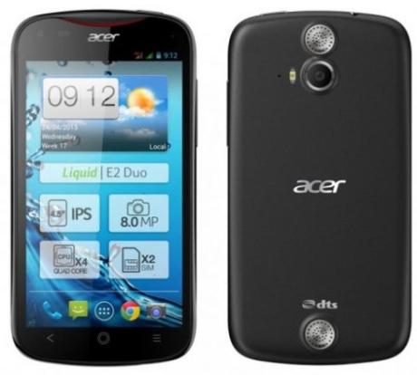 Acer хочет улучшить свое положение на рынке смартфонов