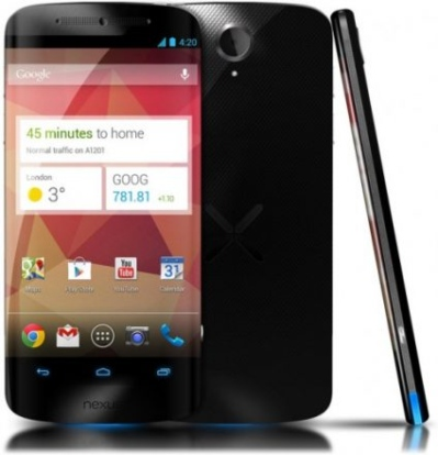 В интернет утекли спецификации LG Nexus 5