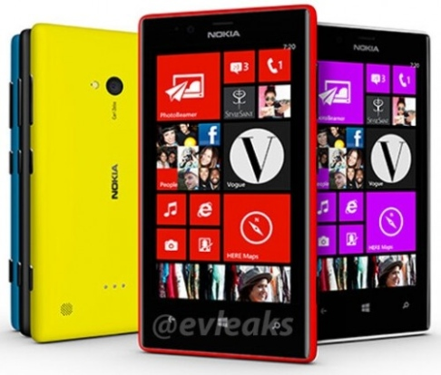 в интернет просочились фото lumia 720 и lumia 520