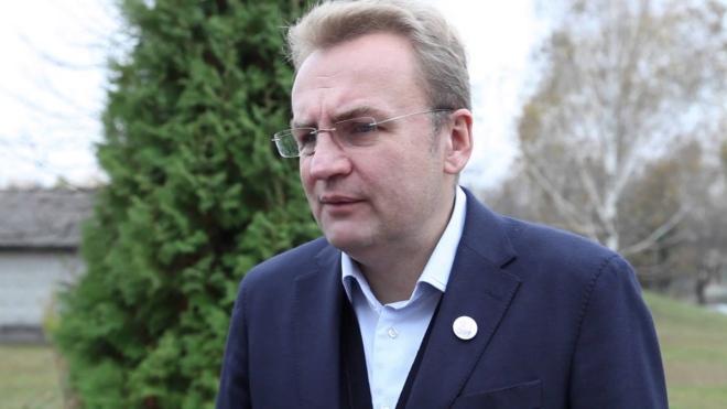мэр Львова Андрей Садовой посетил Чернигов