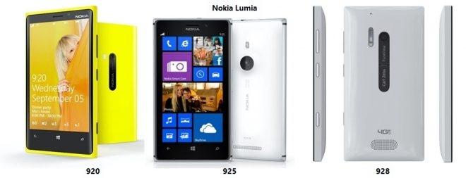 Сравнение Nokia Lumia 925 с Lumia 920