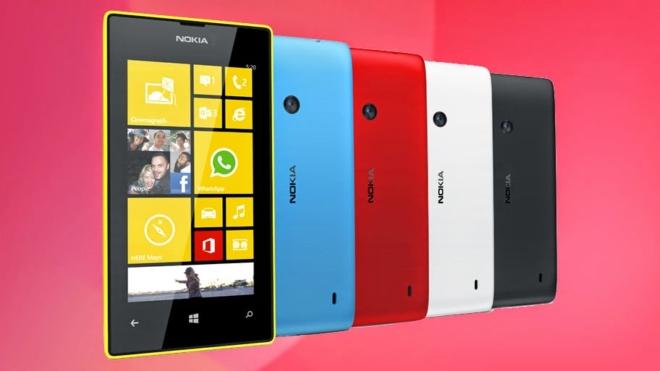разблокированный nokia lumia 520 поступил в сша