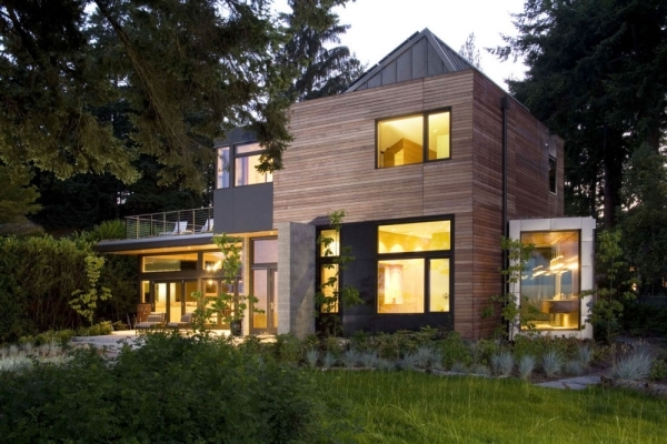 дом, который дружит с окружающей средой
