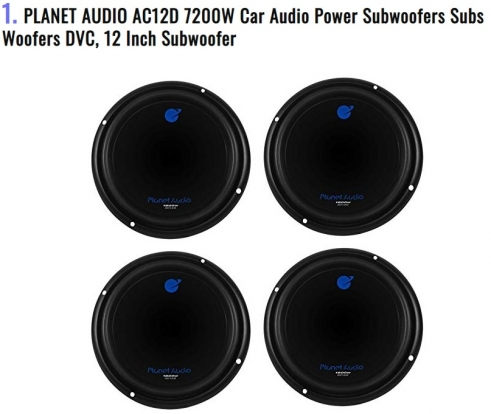 PLANET AUDIO AC12D 7200