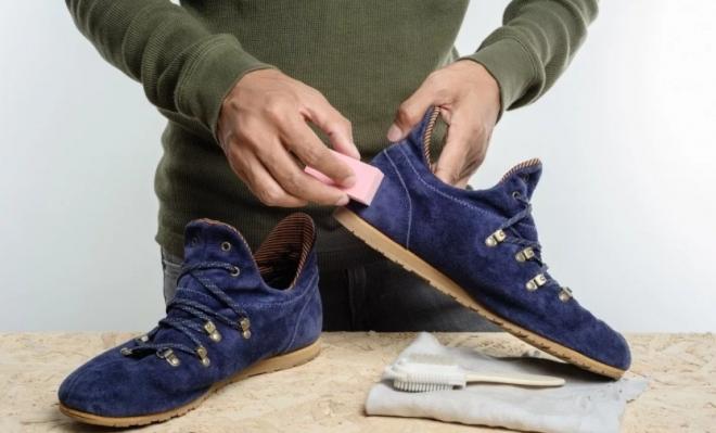 Покраска — новая жизнь для замшевой обуви!