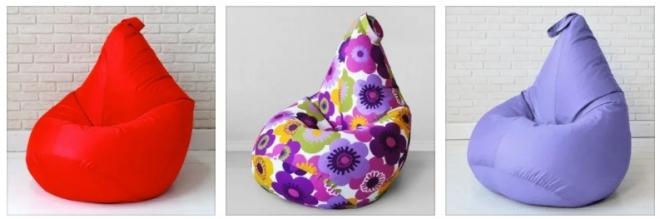 Кресло-мешок — идеальная находка для стильного оформления комнаты!