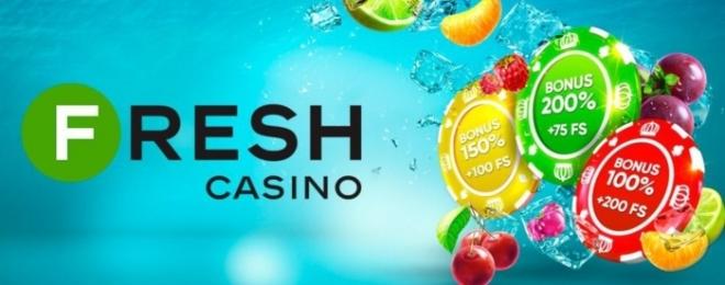 Новинка! Зустрічайте нове відмінне онлайн казино Фреш!