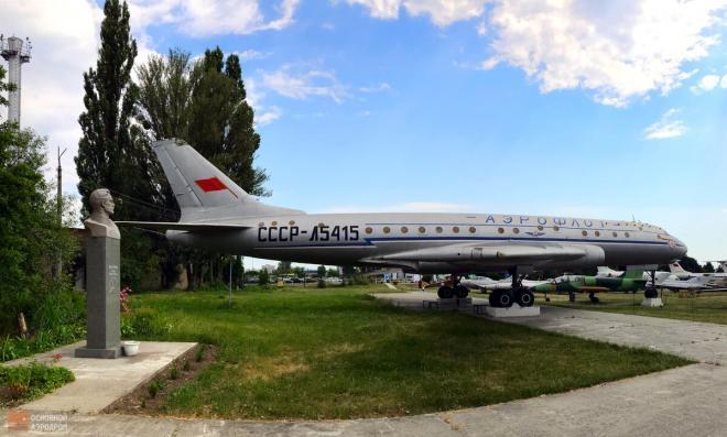 История одного экспоната — ТУ-104 СССР-Л5415